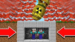 Download EXTREME TNT NUKE VS. MINECRAFT BUNKER! Video