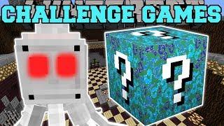 Minecraft: EYEBALL OCTOPUS CHALLENGE GAMES - Lucky Block Mod
