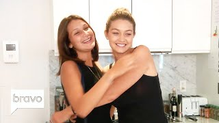 Download Gigi & Bella Hadid Before They Were Stars | Real Housewives of Beverly Hills | Bravo Video