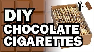 Download DIY Chocolate Cigarettes, Corinne VS Chocolate Video