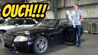 Download Here's Everything that's Broken with My Cheap V12 Mercedes SL600 Video