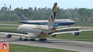 Download B747 on Runaway When Landing A380 (HD) || X-Plane 11 Video