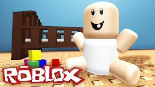 Download BEING A BABY IN ROBLOX Video