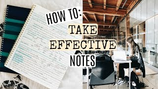 Download HOW TO TAKE EFFICIENT NOTES THAT ACTUALLY HELP YOU LEARN! Video