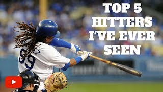 Download Top 5 Hitters I've Ever Seen Video