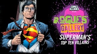 Download 10 Greatest Superman Villains - Rogues' Gallery Video