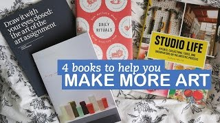 Download Make More Art with these 4 Books | LittleArtTalks Video