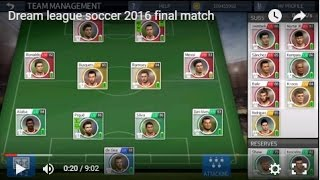 Download Dream league soccer 2018 final match (coin hacked) Video