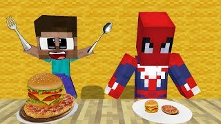 Download Monster School: Cooking In The Restaurant - Minecraft Animation Video