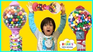 Download Giant Dubble Bubble Gumball Machine! My Little Pony gumball candy review! Bubble Gum Challenge Video