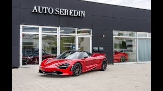 Download 2017 McLaren 720S Coupe Memphis Red Exterior Interior REVIEW by Auto Seredin Germany Video