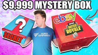 Download $9,999 VS $100 EBAY MYSTERY BOX ⁉️📦 Fortnite, Toys & More! (Unboxing) Video
