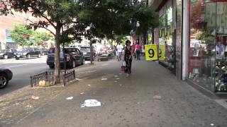 Download Walking in Harlem - 125th street Video
