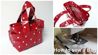Download How to sew a Handbag - Step by Step Tutorial (Box Bag Pattern) Video
