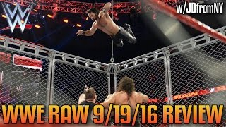 Download WWE Raw 9/19/16 Review: Seth Rollins Saves Roman Reigns, Shield Reunion? - Cruiserweights Debut! Video