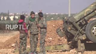 Download Syria: Syrian troops enter Nirbeh village in Aleppo countryside Video