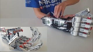 Download LEGO EV3 Robotic Arm | Cyborg Arm Video