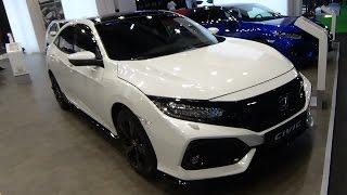 Download 2017 Honda Civic Turbo Sport Plus - Exterior and Interior - Automobile Barcelona 2017 Video