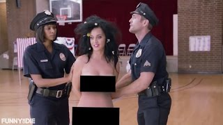 Download Katy Perry Tries to Vote Naked, Gets Arrested for Funny or Die Video