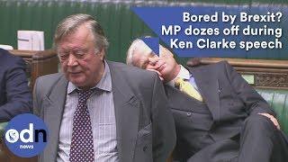 Download Bored by Brexit? MP dozes off during Ken Clarke speech Video
