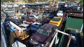 Download Рынок автозапчастей в Гонконге. Ищем двигатели на BMW E38. Кладбище автомобилей. Video