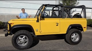 Download Here's Why the Land Rover Defender Costs So Much in the USA Video