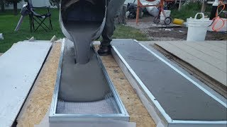 Download Pouring Air Crete Panels for Shed Video