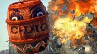 Download Angry Barrels! (Angry Birds real life) Video