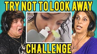 Download ADULTS REACT TO TRY NOT TO LOOK AWAY CHALLENGE #3 Video