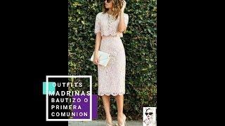 Download OUTFITS PARA MADRINA DE BAUTIZO O PRIMERA COMUNION Video