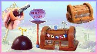 Download #2 Making Bikini Bottom from Spongebob by Recycling 재활용품으로 스폰지밥 비키니시티 만들기 디오라마 만들기 Video