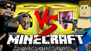 Download Minecraft: FACES LUCKY BLOCK CHALLENGE | Quick scope Battle! Video