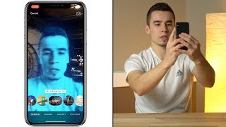 Download 360° Augmented Reality Selfie Videos with iPhone X! Video