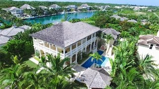 Download Charming Canal Front Residence in Old Fort Bay, Bahamas Video