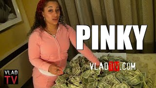 Download Exclusive: Pinky Shows Us How Much Money She Makes Video