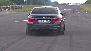 Download 700HP BMW M5 F10 w/ Akrapovic Exhaust! Brutal Accelerations! Video