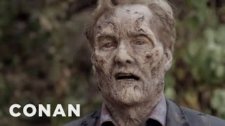 Download Conan's ″The Walking Dead″ Cold Open Video
