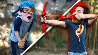 Download WE BROKE SOMETHING!! | Arrow Dodge Challenge #3 Video