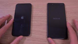 Download iPhone X vs Nokia 8 - Speed Test! Video