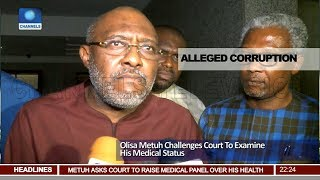 Download Olisa Metuh Challeges Court To Examine His Medical Status Pt.2  News@10  20/04/18 Video
