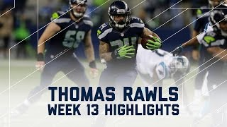 Download Thomas Rawls Rumbles for 106 Yards & 2 TDs (Week 13 Highlights) | Panthers vs. Seahawks | NFL Video