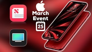 Download Red iPhone Xs Max at March Event? / Services Only & no hardware? Video