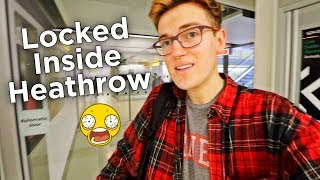 Download I GOT LOCKED ALONE IN AN AIRPORT GATE FOR 30 MINUTES Video
