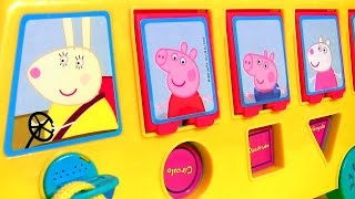 Download Play Doh Peppa Pig School Bus Pop-up Surprise with Piggy George Video