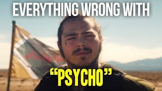 Download Everything Wrong With Post Malone - ″Psycho″ Video