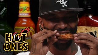 Download Joe Budden Keeps It Real While Eating Spicy Wings   Hot Ones Video
