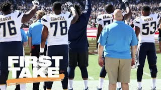 Download White NFL players show support for teammates protesting national anthem | First Take | ESPN Video