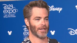 Download EXCLUSIVE: Chris Pine on 'Wonder Woman 2' and Working With Oprah Winfrey in 'A Wrinkle in Time' Video