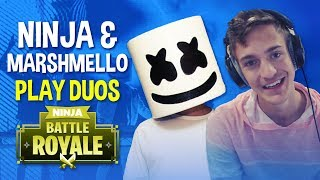 Download Ninja & Marshmello Play Duos!! - Fortnite Battle Royale Gameplay Video