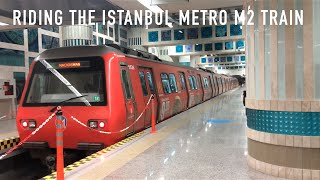 Download Riding the Istanbul Metro M2 Train Video